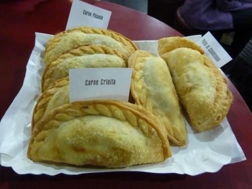 Assortment of Empanadas at Gourmet Empanadas