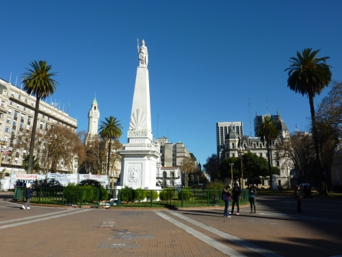 Piramide at Plaza de Mayo