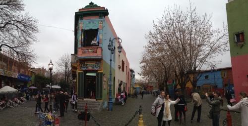 El Caminito street in La Boca