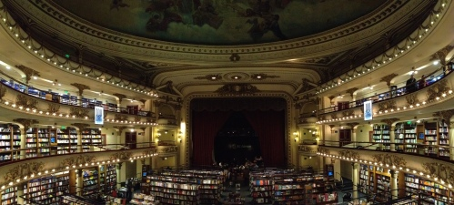 El Ateneo Bookshop & cafe