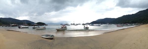 Beach where we docked