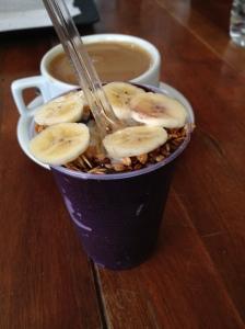 Acai for breakfast