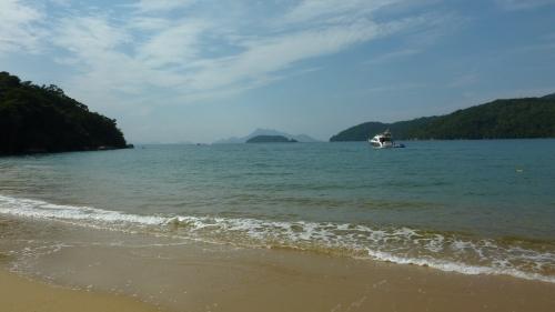 Beach on Ilha Grande