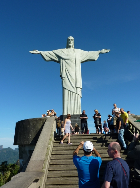 Christ the Redeemer at Corcovado mountain