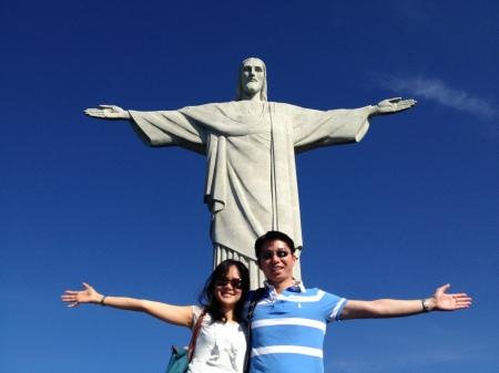 Us at Corcovado