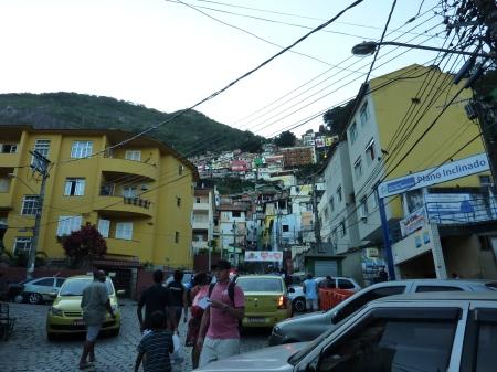 Favela entrance