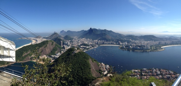 View from Sugar Loaf Mountains