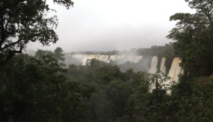 Salto San Martin from Argentinian side