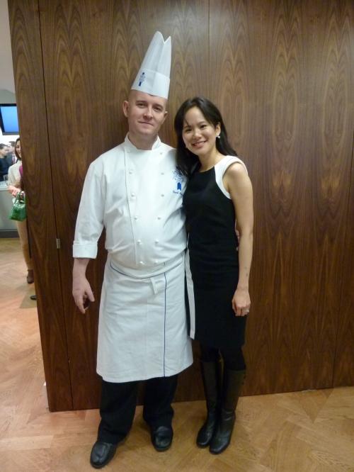 Me and Chef David Morris