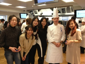 Chef Neil and some of the girls